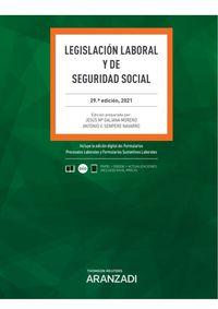 (29 ED) LEGISLACION LABORAL Y DE SEGURIDAD SOCIAL (DUO)