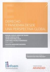 DERECHO Y PANDEMIA DESDE UNA PERSPECTIVA GLOBAL (DUO)