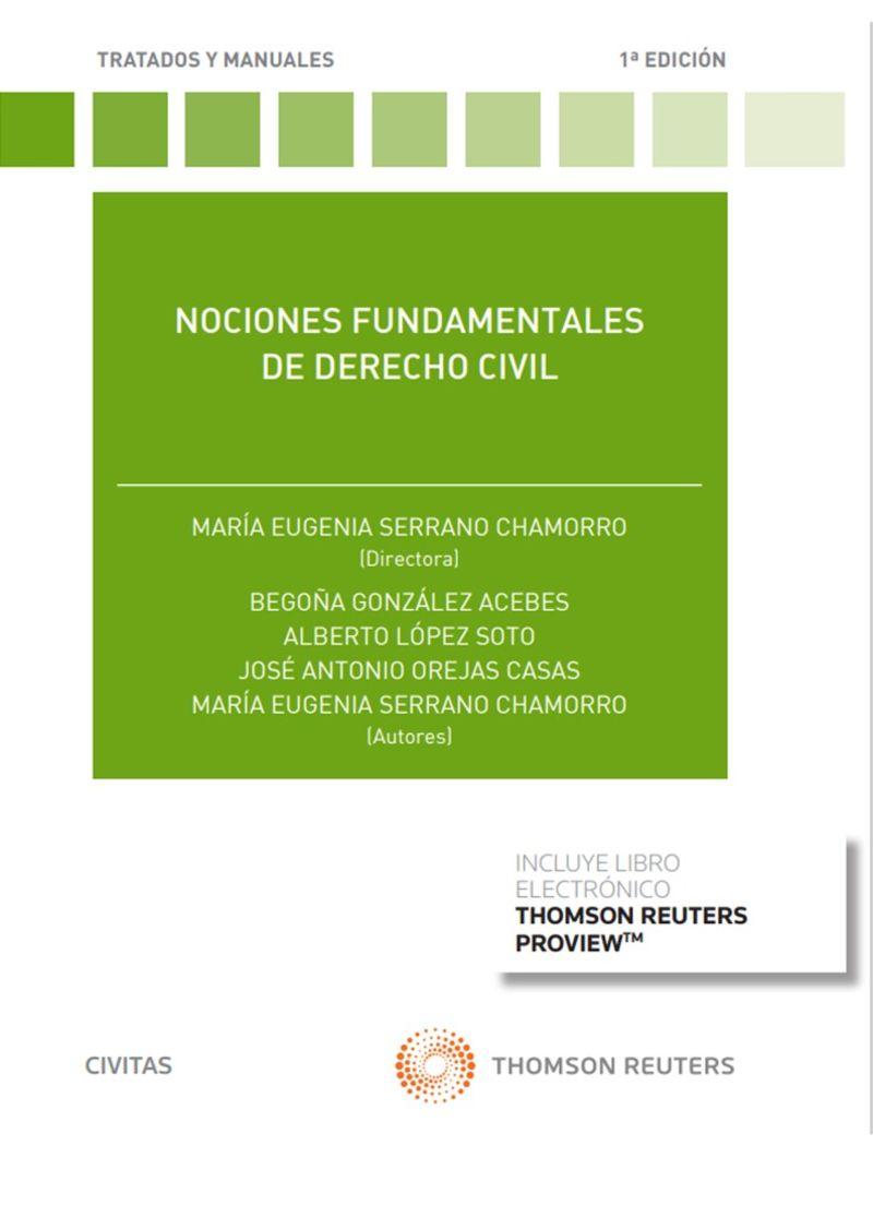 NOCIONES FUNDAMENTALES DE DERECHO CIVIL (DUO)