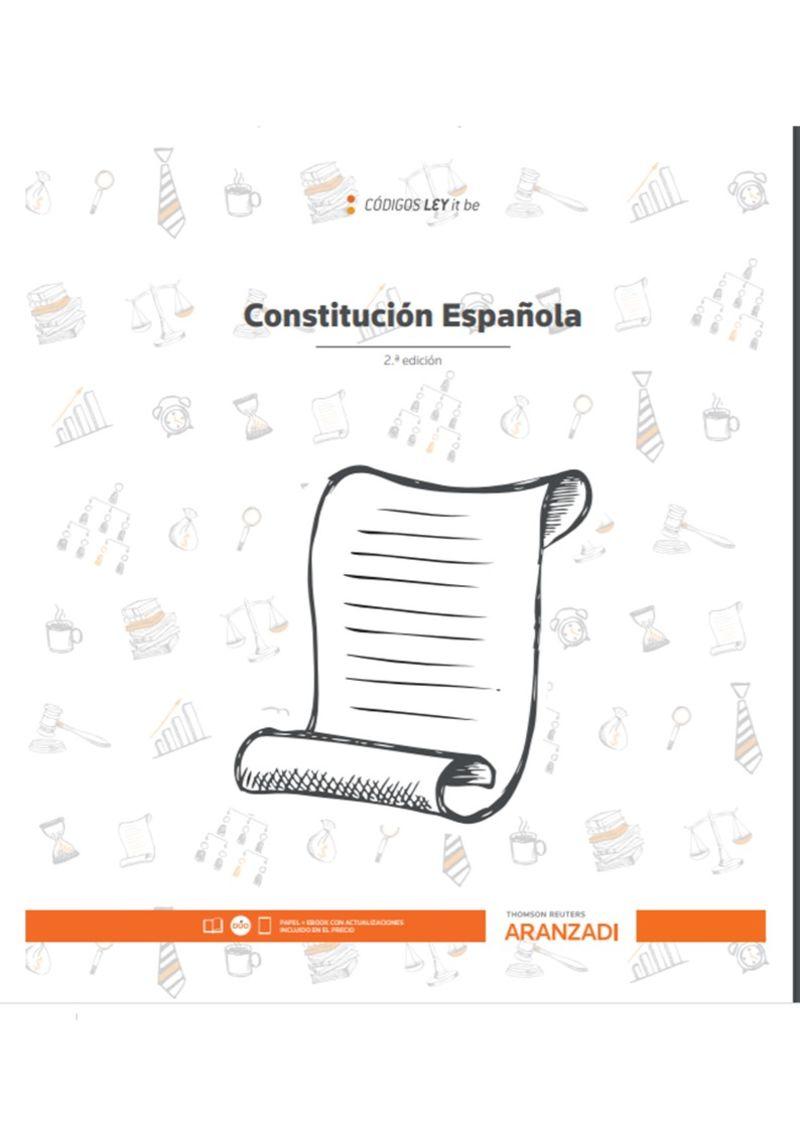 (2 ED) CONSTITUCION ESPAÑOLA (LEYITBE) (DUO)