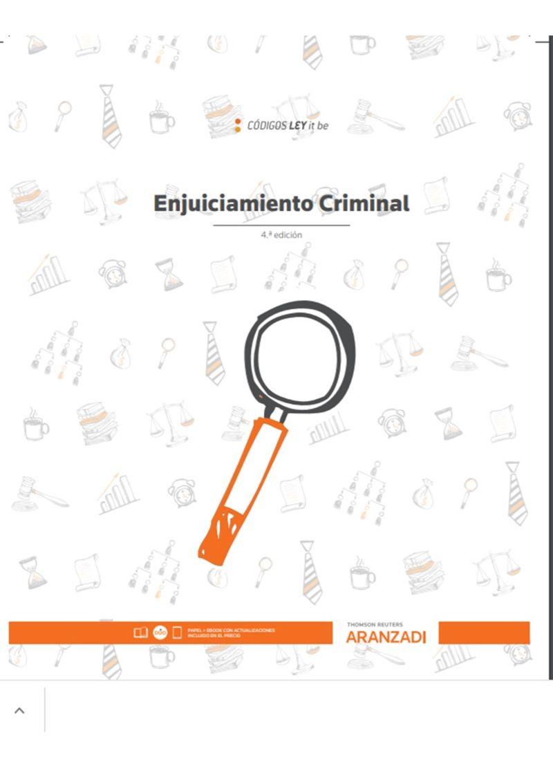 (4 ED) ENJUICIAMIENTO CRIMINAL (LEYITBE) (DUO)