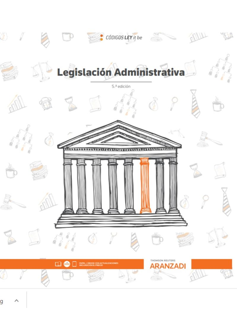 (5 ED) LEGISLACION ADMINISTRATIVA (LEYITBE) (DUO)