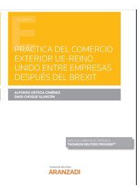 PRACTICA DEL COMERCIO EXTERIOR DESPUES DEL BREXIT (DUO)