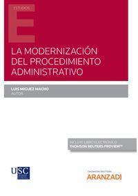 LA MODERNIZACION DEL PROCEDIMIENTO ADMINISTRATIVO (DUO)