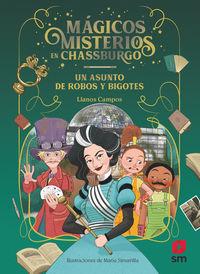 MAGICOS MISTERIOS EN CHASSBURGO 3 - UN ASUNTO DE ROBOS Y BIGOTES