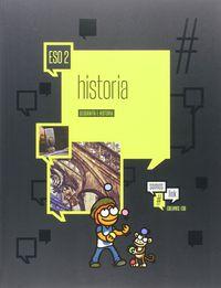 Eso 2 - Geografia E Historia Version 2 (ara, Ast, Cyl) - #somoslink - Aa. Vv.