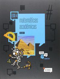 ESO 4 - MATEMATICAS ACADEMICAS - #SOMOSLINK