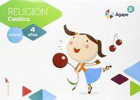 4 AÑOS - RELIGION - AGAPE-BERIT