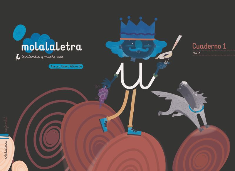 4 AÑOS - MOLALALETRA - NIVEL 2 - (PAUTA) - LETRILANDIA