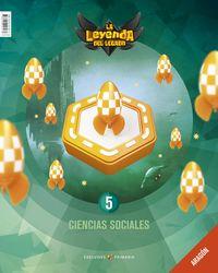 EP 5 - CIENCIAS SOCIALES (ARA) - LA LEYENDA DEL LEGADO
