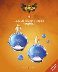 EP 4 - LENGUA CASTELLANA Y LITERATURA CUAD 4-2 (MAD) - LA LEYENDA DEL LEGADO