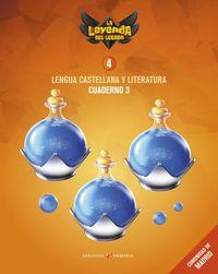 EP 4 - LENGUA CASTELLANA Y LITERATURA CUAD 4-3 (MAD) - LA LEYENDA DEL LEGADO