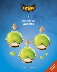 EP 4 - MATEMATICAS CUAD 4-3 (MAD) - LA LEYENDA DEL LEGADO