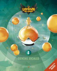 EP 4 - CIENCIAS SOCIALES (MAD) - LA LEYENDA DEL LEGADO