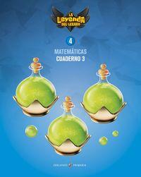 EP 4 - MATEMATICAS CUAD 4-3 - LA LEYENDA DEL LEGADO