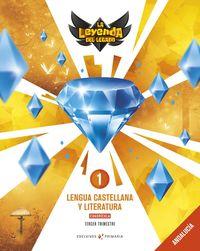 EP 1 - LENGUA CASTELLANA Y LITERATURA CUADRICULA (AND) - LA LEYENDA DEL LEGADO