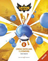 EP 4 - LENGUA CASTELLANA Y LITERATURA (AND) - LA LEYENDA DEL LEGADO