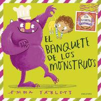 El banquete de los monstruos - Emma Yarlett