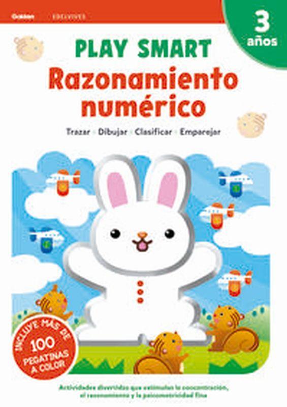 3 AÑOS - RAZONAMIENTO NUNERICO - PLAY SMART CUAD 4