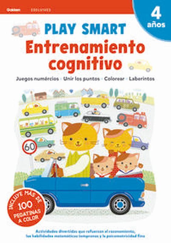 4 AÑOS - ENTRENAMIENTO COGNITIVO - PLAY SMART CUAD 4