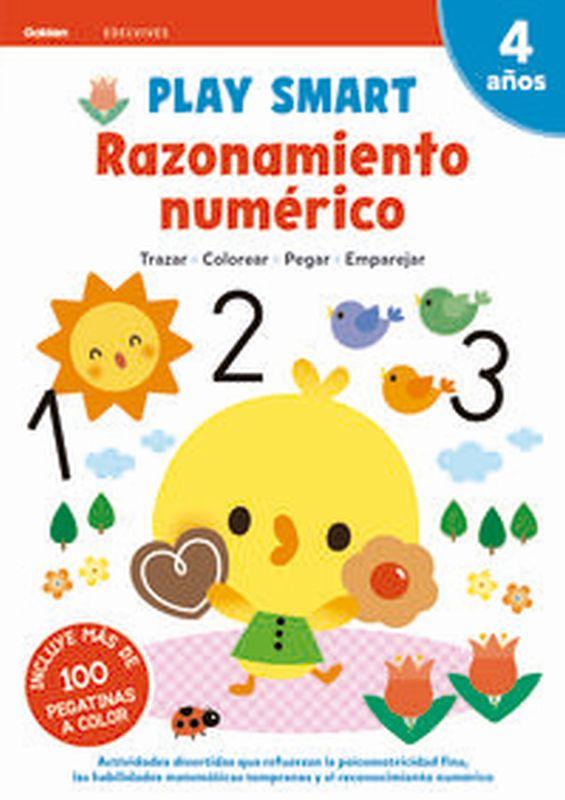 4 AÑOS - RAZONAMIENTO NUMERICO - PLAY SMART CUAD 5