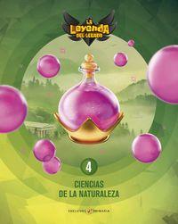 EP 4 - CIENCIAS NATURALEZA (+LICENCIA DIGITAL) - LA LEYENDA DEL LEGADO
