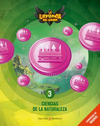 EP 3 - CIENCIAS NATURALEZA (MAD) (+LICENCIA DIGITAL) - LA LEYENDA DEL LEGADO