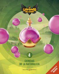 EP 4 - CIENCIAS NATURALEZA (MAD) (+LICENCIA DIGITAL) - LA LEYENDA DEL LEGAOD
