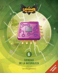 EP 6 - CIENCIAS NATURALEZA (MAD) (+LICENCIA DIGITAL) - LA LEYENDA DEL LEGADO