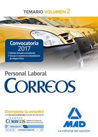 TEMARIO 2 - PERSONAL LABORAL DE CORREOS Y TELEGRAFOS