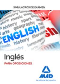 Simulacros Examen - Ingles Para Oposiciones - Alba Martos Carmona