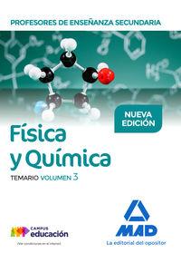 PROFESORES ESO - TEMARIO III - FISICA Y QUIMICA