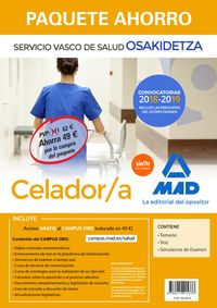 PAQUETE AHORRO CELADOR - OSAKIDETZA 2018 - SERVICIO VASCO DE SALUD