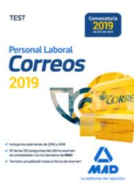 TEST - PERSONAL LABORAL DE CORREOS Y TELEGRAFOS
