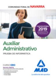 PRUEBA INFORMATICA - ADMINISTRATIVO - COMUNIDAD FORAL DE NAVARRA