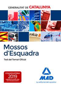 TEST TEMAR OFICIAL - MOSSOS D'ESQUADRA