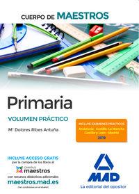 VOLUMEN PRACTICO - CUERPO DE MAESTROS PRIMARIA