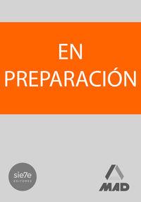 TEMARIO ESPECIFICO 1 - AUXILIAR DE ENFERMERIA - COMUNIDAD AUTONOMA DE ARAGON