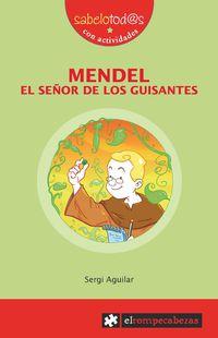 mendel - el señor de los guisantes - Sergi Aguilar Valldeoriola