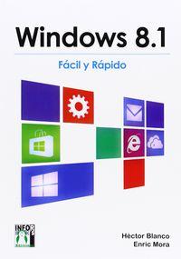 WINDOWS 8.1 - FACIL Y RAPIDO