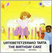 URTEBETETZERAKO TARTA = BIRTHDAY CAKE, THE