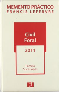 MEMENTO CIVIL FORAL 2011