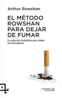 METODO ROWSHAN PARA DEJAR DE FUMAR, EL