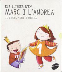LLIBRES D'EN MARC I L'ANDREA (4 LLIBRES)