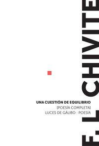 una cuestion de equilibrio - Fernando Luis Chivite