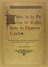 libro de la orden de caballeria de ramon llull - Ramon Llull