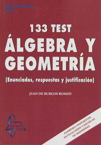 133 TEST ALGEBRA Y GEOMETRIA
