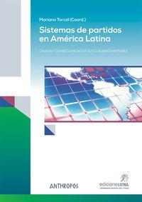 Sistemas De Partidos En America Latina - Mariano Torcal