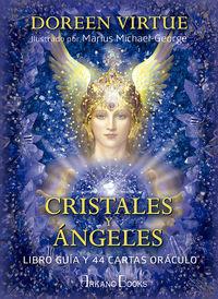 CRISTALES Y ANGELES (+44 CARTAS ORACULO)