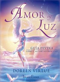 AMOR Y LUZ - GUIA DIVINA (+44 CARTAS ORACULO)